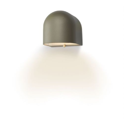 Egham Wall Light Silver LED IP44 EGH1532